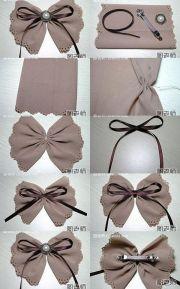 diy hair bow tutorials girls