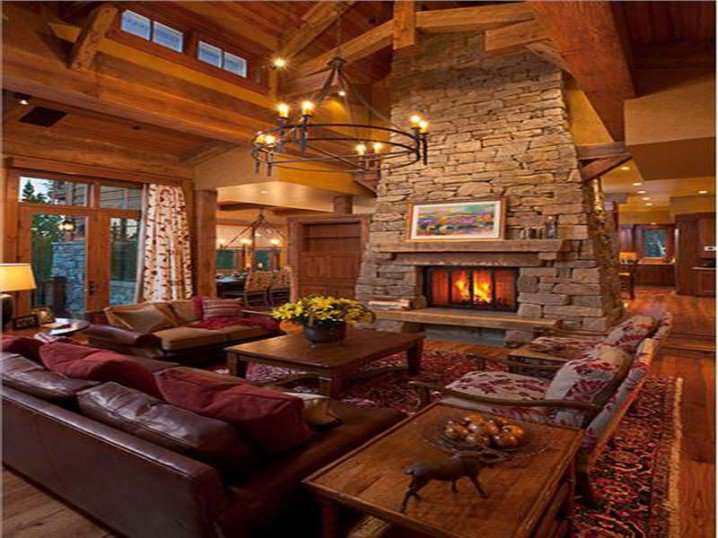 12 Rustic Living Room Designs You Must Love  Pretty Designs