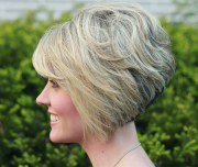 stacked -line bob haircuts