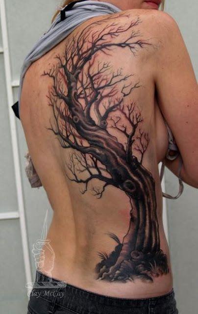 12 Ultraprettty Tree Tattoos on Back  Pretty Designs
