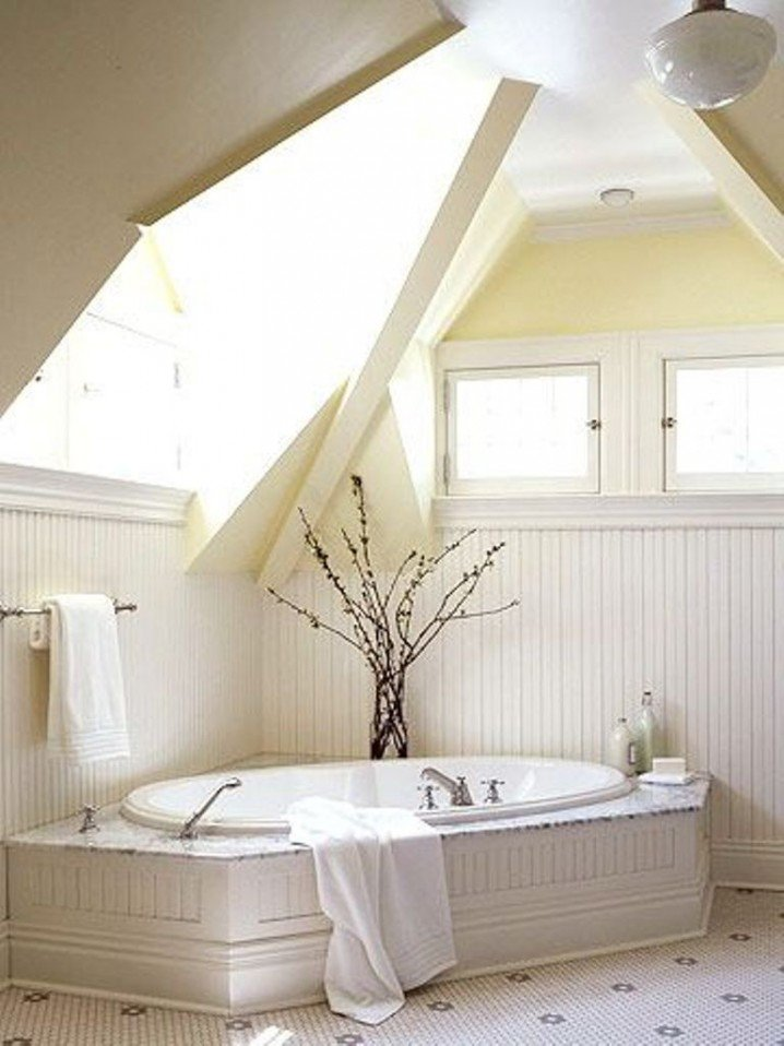 Decorating your living room properly will. 12 Modern Bathroom Designs for Your Attic - Pretty Designs