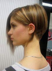 stacked -line bob haircut