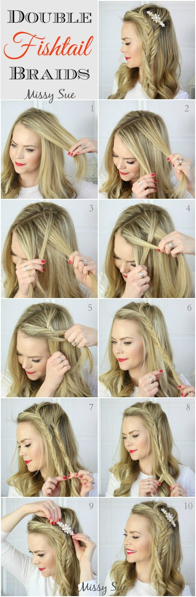 12 Amazing French Braid Hairstyles Tutorials Pretty Designs