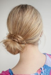 super cute bun hairstyles