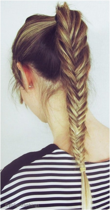 12 Simple Fishtail Braid Hairstyles - Pretty Designs