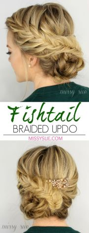 gorgeous braided updo hairstyles