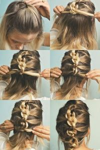 20 Easy Updo Hairstyles for Medium Hair