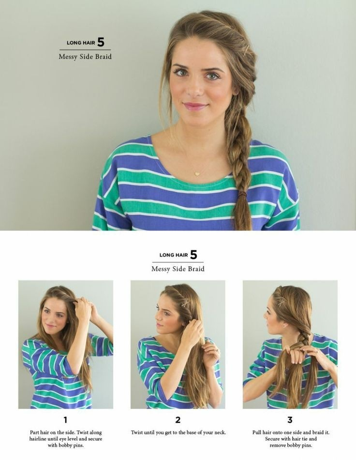10 Trendy Side Braid Hairstyles for Long Hair
