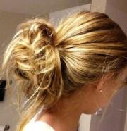 pretty updo hairstyles girls