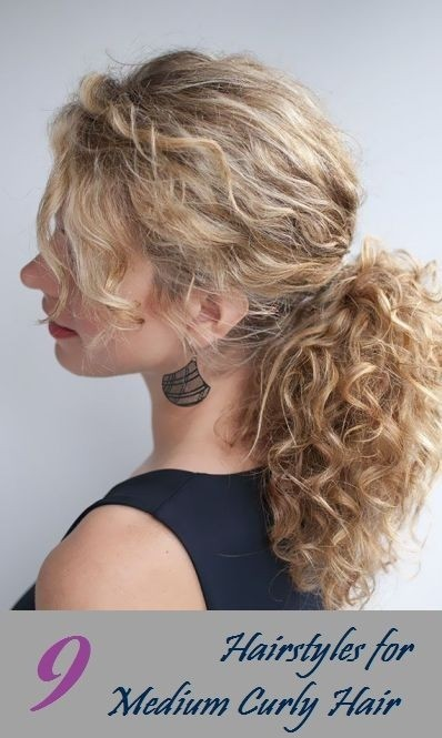 Simple Curly Hairstyles For Everyday Easy Casual Hairstyles For