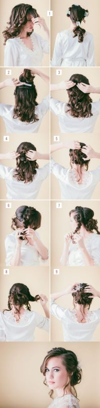 10 Easy Tutorials to Make Wedding Hair - Pretty Designs