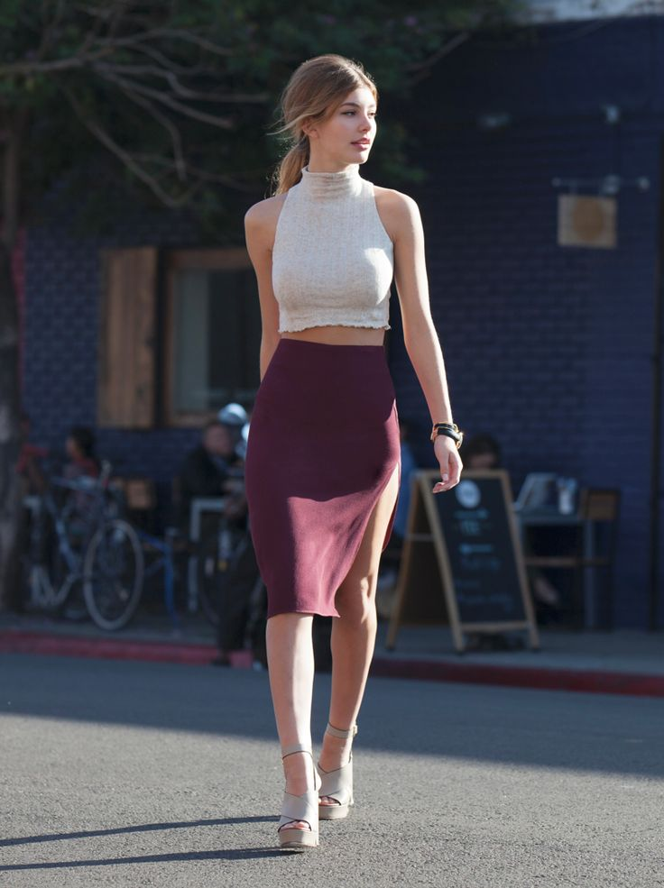 How to Wear Crop Tops  Pretty Designs