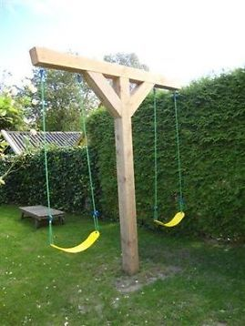 chair hammock stand plans stackable plastic lawn chairs 15 fantastic swings for your backyard - pretty designs