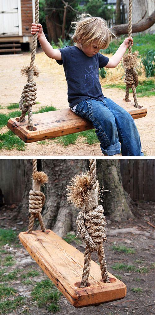 monkey rope tree swing
