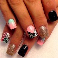 20 Creative Manicure Ideas - Pretty Designs
