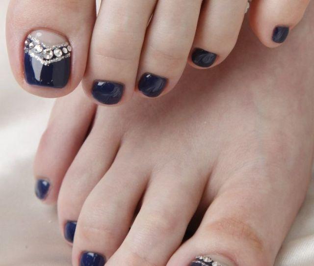 Adorable Easy Toe Nail Designs  Pretty Simple Toenail Art