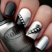 beautiful nail design long