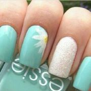 super easy nail art design