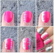 easy step nail tutorials