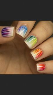 great nail design short
