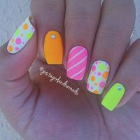 15 Cute Summer Nail Art Ideas for 2016