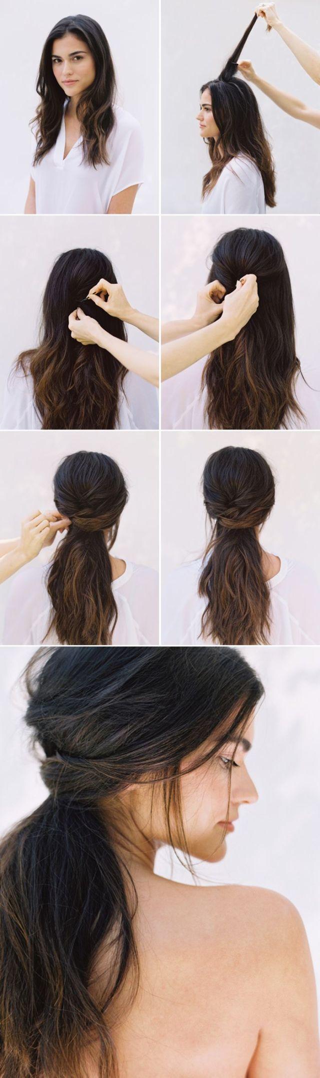 23 stunning half up half down wedding hairstyles - pretty