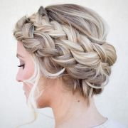 sweet french braids - pretty