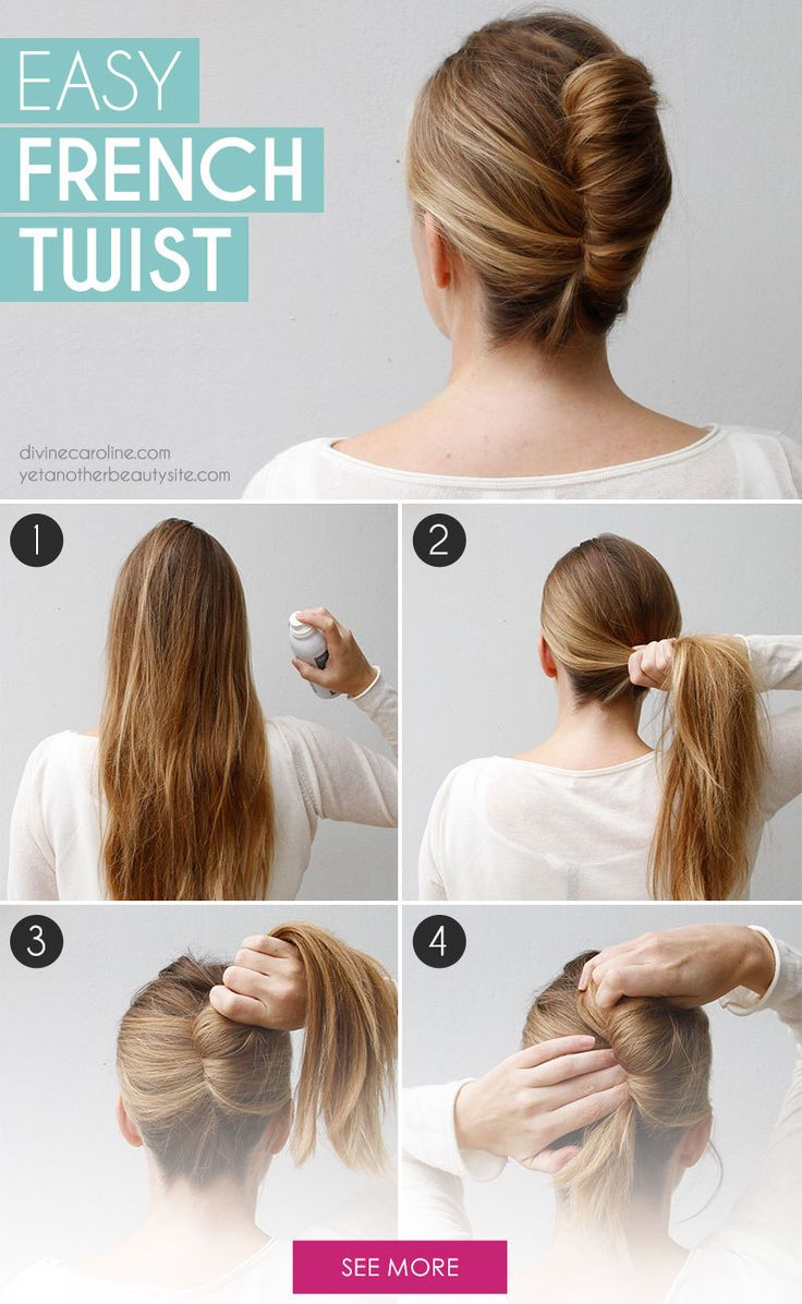 How To Make French Roll Hairstyle At Home