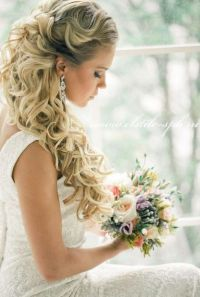 23 Stunning Half Up Half Down Wedding Hairstyles - Pretty ...