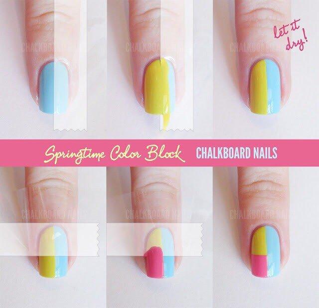 Nail Art Polish Lication Technique Nails