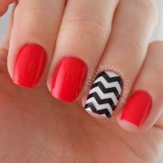 great nail design short