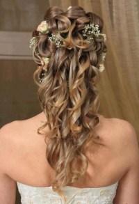 23 Stunning Half Up Half Down Wedding Hairstyles - Pretty ...