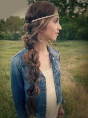 boho chic hairstyles women