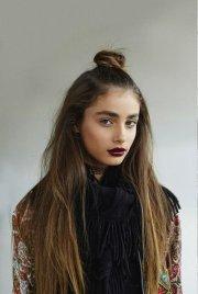 trendy bun hairstyles