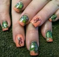 13 Pretty Camouflage Nail Designs - Pretty Designs