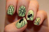 25 Horrifying Halloween Nail Designs - Pretty Designs