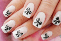 17 Cute Bow Nail Designs