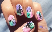 20 Simple Dandelion Nail Designs for 2016 - Pretty Designs