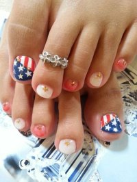 12 Cute Easy Toenail Designs for Summer - crazyforus