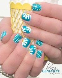 22 Lovely Polka Dot Nail Designs for 2016
