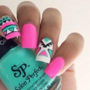 great tribal nail design
