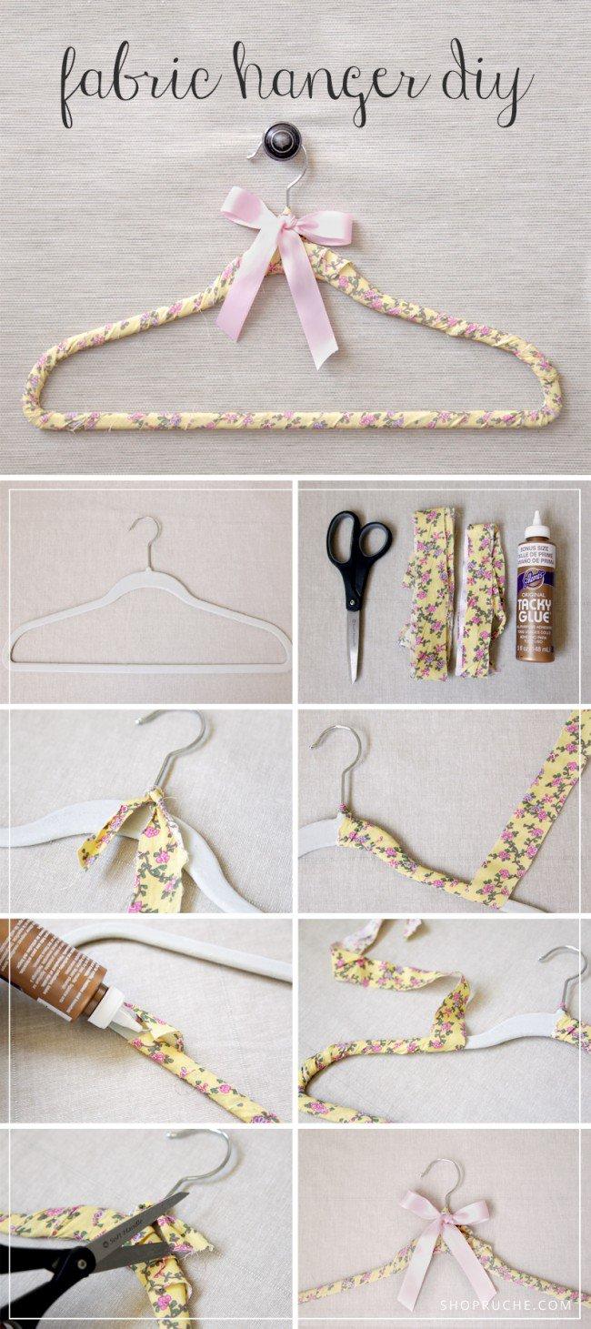 16 Great DIY Hanger Ideas  Pretty Designs