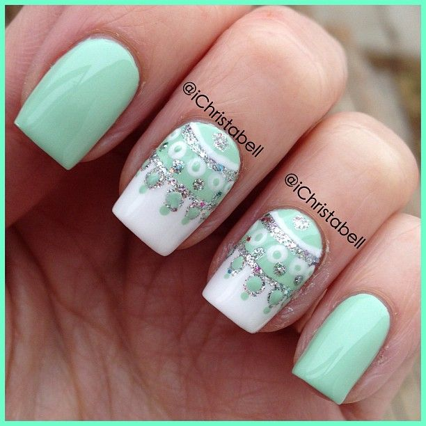 122 Nail Art Designs That You Won T Find On Google Images: 15 Pretty Winter Nail Art Ideas