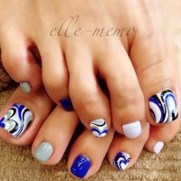 12 Cute Easy Toenail Designs for Summer