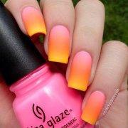 ombre nail design