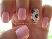 20 Classy Plaid Nail Designs for 2016 - Pretty Designs