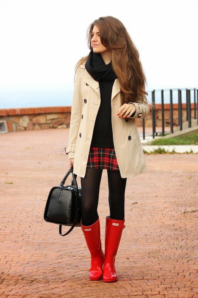22 Super Chic Ways to Wear Rainy Boots  Pretty Designs