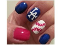15 Sporty Baseball Nail Designs - Pretty Designs