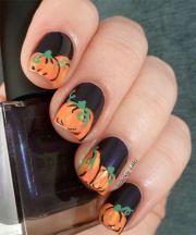 pretty nail art fall
