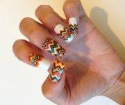 impressive thanksgiving nail